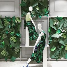 Jungle vibes #dunnesstores #mannequin #windowdisplay #retaillife #visualmerchandising #vmdaily #visualmerchandiser via @vmonthegreen