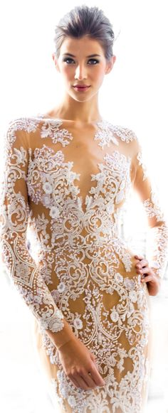 Zuhair Murad 2013 If only I could get away with not wearing a bra...