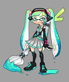 That hair style is adorable #Inkling #inkbrush