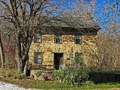 Philip Moore Stone House, located along State Route 239 south of West Portsmouth in Washington Township, Scioto County, Ohio, United States. Built in 1797