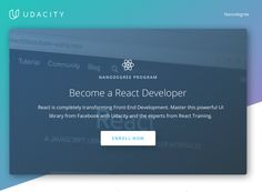 Udacitys latest Nanodegree will teach React  In its quest to reduce persistent skills gaps Udacity has been designing condensed courses to get students up to speed on trendy topics to improve employment outcomes. The startups Nanodegrees as they call them span VR robotics deep learning and other key technical and non-technical skills. Today Udacity is announcing its latest addition to the lineup &#8212 Read More http://tcrn.ch/2rzXbIC