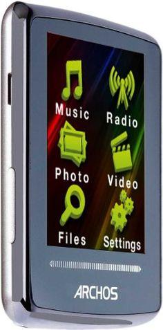 Archos 20d Vision 4GB MP3 Player