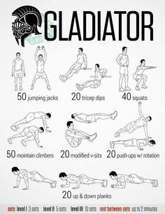 Morning exercises every day.