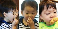 """On the upcoming episode of """"Superman Returns,"""" the Song triplets fall in love with Busan fish cakes and succeed to make viewers' mouths water once again. When they go into a fish cake store, Daehan spots the stacked up pile of fish cakes and runs toward it with wide eyes. After tak..."""