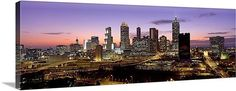 Atlanta Skyline, Dusk