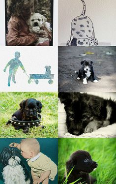 Can We Get a Puppy? by Deborah Mosca on Etsy--Pinned with TreasuryPin.com