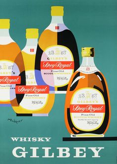 advertising poster by Françis Andruet (c.1962)
