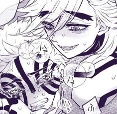 Anime Demon, Manga Anime, Anime Faces Expressions, Haikyuu Yaoi, Anime Couples Drawings, Demon Hunter, Dragon Slayer, Sasunaru, Slayer Anime