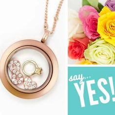 What Bride-To-Be wouldn't love to wear this locket to show her excitement for her upcoming nuptials?