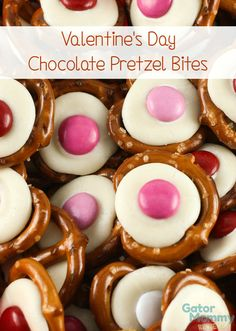 Valentine's Day Chocolate Pretzel Bites are an irresistible snack that everyone will love. They take less than 5 minutes to make and only three ingredients are needed - Gator Mommy Reviews