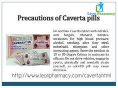 Caverta medication is a solution to end the erectile pressure in men.