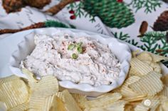 Clam Dip Recipe   This easy to make, and delicious to eat chip dip is your new favorite party dip. Make ahead of time for easy planning. See the recipe on TodaysCreativeLife.com