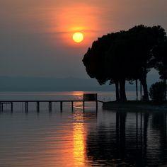 Day's End 1: Bardolino Lake Garda Veneto Italy by Kangaroobie....travelling for a few days, via Flickr