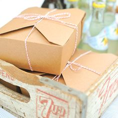 Recycled Bio Pak takeout boxes make the perfect package for your homemade treats and gifts - and for packing up leftovers from all those holiday meals! All take out boxes have a leak and grease resist
