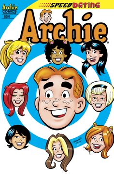 """On sale Wednesday, April 16, 2014 -- Archie #654! Featuring the amazing story """"Speed-Date-O-Rama""""!"""