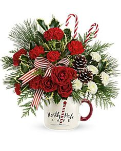 Christmas Flowers Delivery Louisa KY - Farmhouse Memories Fast Flowers, Flowers Today, Morning Flowers, Christmas Flower Arrangements, Christmas Flowers, Fresh Flower Delivery, Order Flowers Online, Sending Hugs, Small Bouquet
