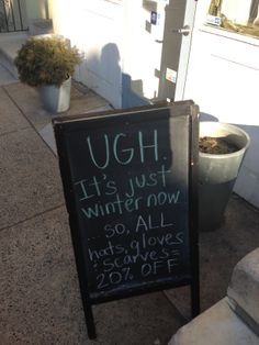 Funny Chalkboard Sign PreThanksgiving xmas music is