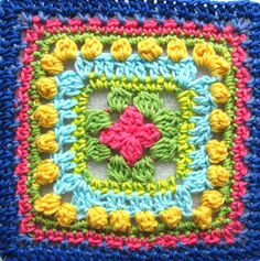 Free pattern for Planet Penny Beautiful Blogger Blanket Square!