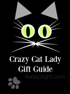 Gift guide for the Crazy Cat Lady - you know her...