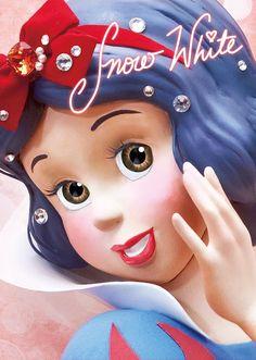 Details about Disney Princess Snow White Close-up Series Lenticular Card - Postcard - beautyfoul faces - Disney Princess Pictures, Disney Princess Snow White, Disney Princess Art, Arte Disney, Disney Art, Disney Pixar, Disney Images, Disney Pictures, Deviant Art