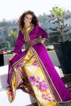 caftan marocain moderne 2014 ~ Caftan Marocain Haute Couture : Vente Location Takchita au Maroc