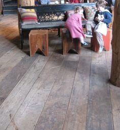 Barnwood floors <3    Reclaimed Wood-Black's Farmwood, Inc. - reclaimed wood flooring, siding, and beams - Commercial Projects