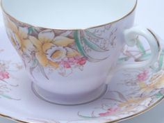 Aynsley Vintage Fine Bone China Tea Cup and by TheVintageFind1, $30.00