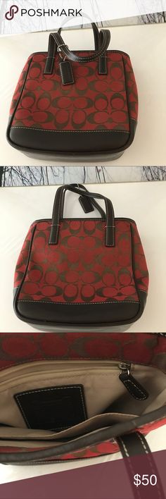 🇺🇸Small Tote 🇺🇸Small  Coach Tote in gently used Condition. Coach Bags Totes