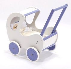 Wooden Doll Pram GREBES by Mini Kids - 4 Eve's Bday
