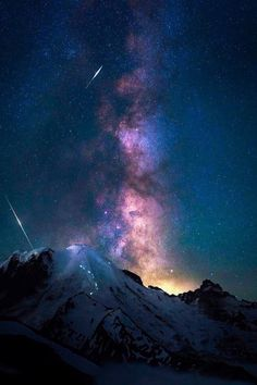 My Colorful World – Galaxy Art Night Sky Stars, Sky Full Of Stars, Night Skies, Beautiful Sky, Beautiful Landscapes, Starry Night Wallpaper, Galaxy Wallpaper, Milky Way, Stargazing