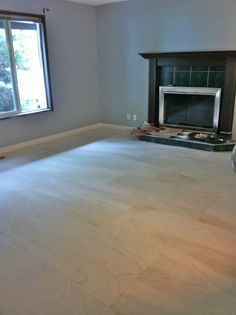 DIY plywood flooring-like the look, not sure about off-gassing of plywood.