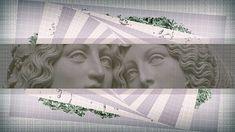 vaporwave, classical art, abstract, digital composite, representation HD wallpaper