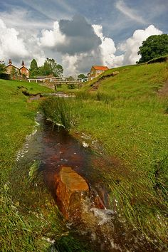 Hutton Beck, a stream in North Yorkshire
