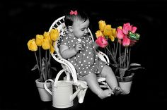 black and white pictures with a splash of color - Google Search