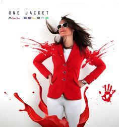 One jacket  All colors