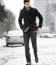 awesome 64 Idées pour porter le manteau pour homme avec du style!