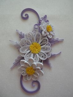 Quilling papatya