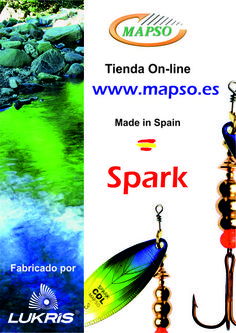 SPARK COL  http://mapso.es/es/64-Spark-COL-cucharillas-para-pesca Fishing Spinners & Spoons