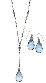 Love the shape of Owen glass jewelry.