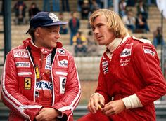 1976 world championship battle between Niki Lauda and James Hunt