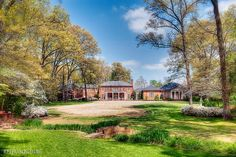 The South Lawn of the Dixon Gallery & Gardens, where the twice-yearly Symphony in the Gardens takes place.  Buy tickets today! www.MemphisSymphony.org