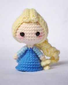 The cold never bother me anyway~ #elsa #amigurumi #crochet #crochetdoll #craft #handmade