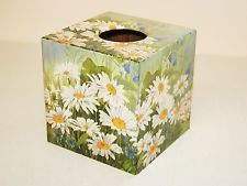 Tissue Box Cover Daisy Chain