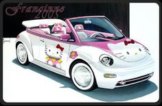 Hello Kitty Car Pictures, Images and Photos