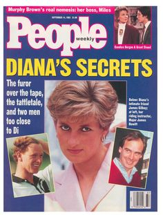 September 14, 1992: Princess Diana on the cover of People Magazine.