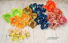 agnieszkapasjonata: 625. Noc taka piękna... Scrap, Felt, Flowers, Handmade, Felting, Hand Made, Feltro, Royal Icing Flowers, Flower