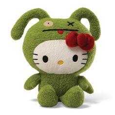 Hello Kitty Ox  by  Uglydoll