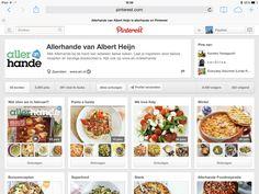 Zelf supermarkt keten Albert Heijn gebruikt pinterest om beelden van gerechtjes te posten http://www.pinterest.com/allerhande/