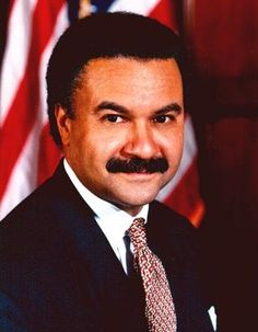 "Photo: Ronald Harmon ""Ron"" Brown. Credit: Wikimedia Commons. Read more on the GenealogyBank blog: ""Ron Brown: 1st African American to Lead a Major U.S. Political Party"" https://blog.genealogybank.com/ron-brown-1st-african-american-to-lead-a-major-u-s-political-party.html"