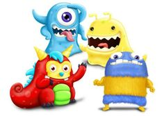 Monster Cartoon Characters #monster #character